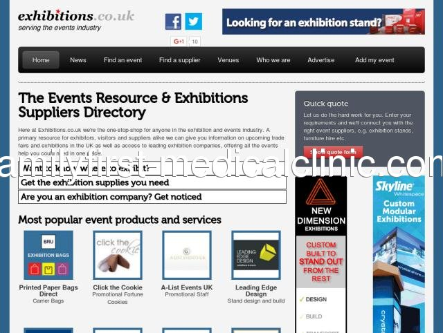 Find a supplier | Exhibitions