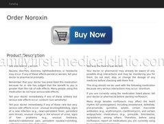 Noroxin Norfloxacin Side Effects
